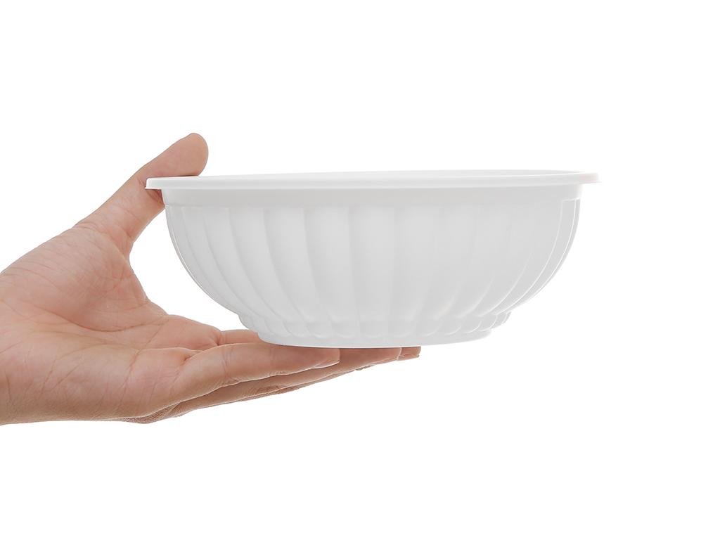 Tô nhựa Bách Hoá Xanh BPPP 16.5cm (10 cái) 4