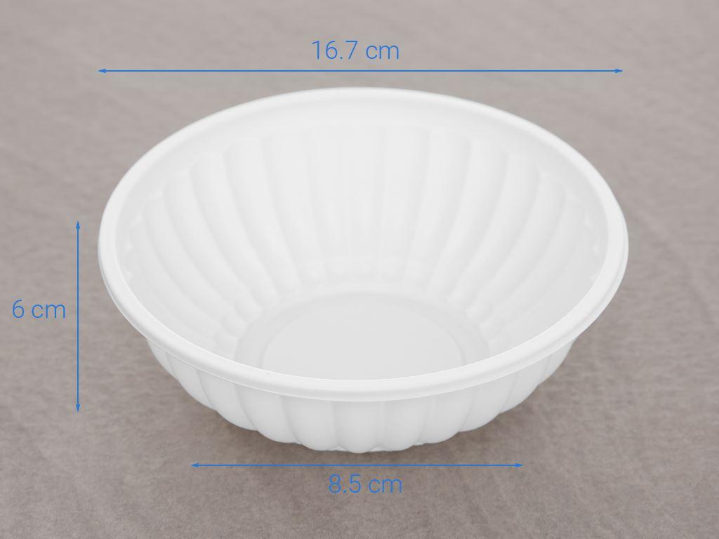 Tô nhựa Bách Hoá Xanh BPPP 16.5cm (10 cái) 6