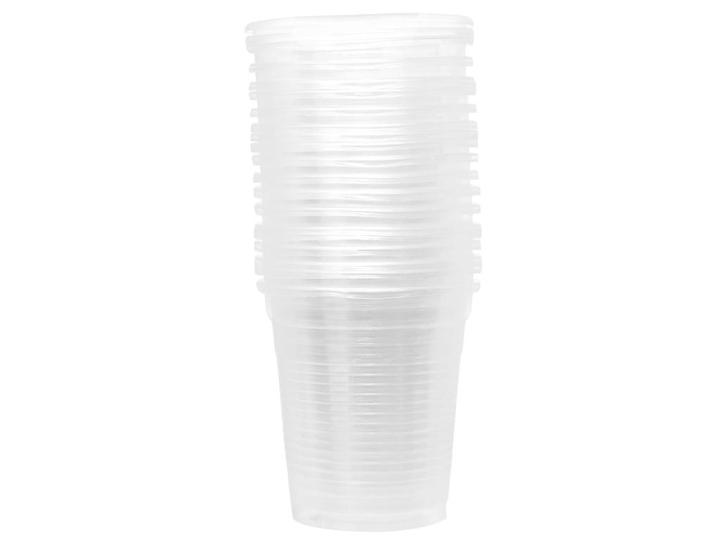 20 ly nhựa PP trong suốt Hunufa 190ml 1
