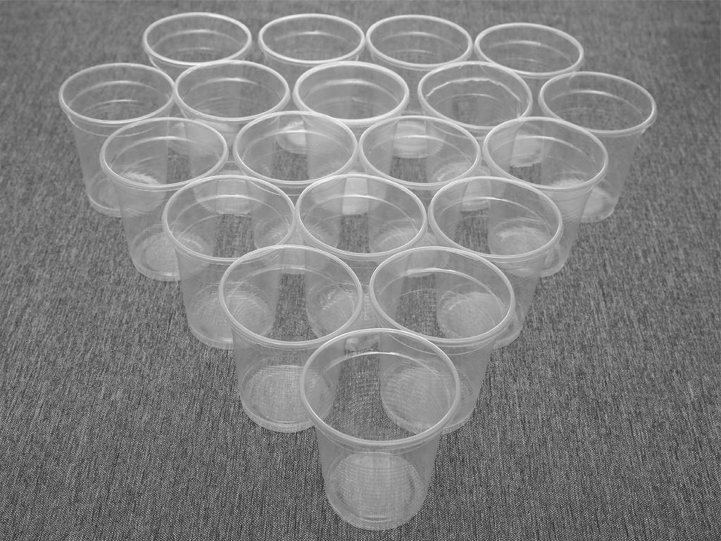 Ly nhựa PP trong suốt Hunufa 190ml (20 cái) 1