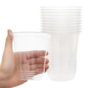 Ly nhựa PP dày trong suốt Hunufa 400ml (10 cái)