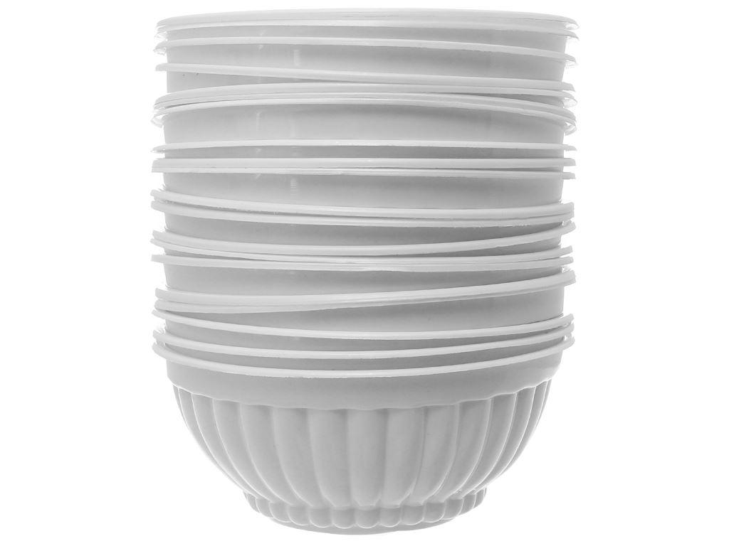 20 chén nhựa PP tròn Hunufa 11.8cm 4