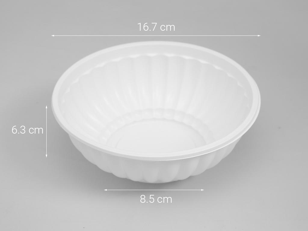 Tô nhựa PP Hunufa 16.7cm (10 cái) 6