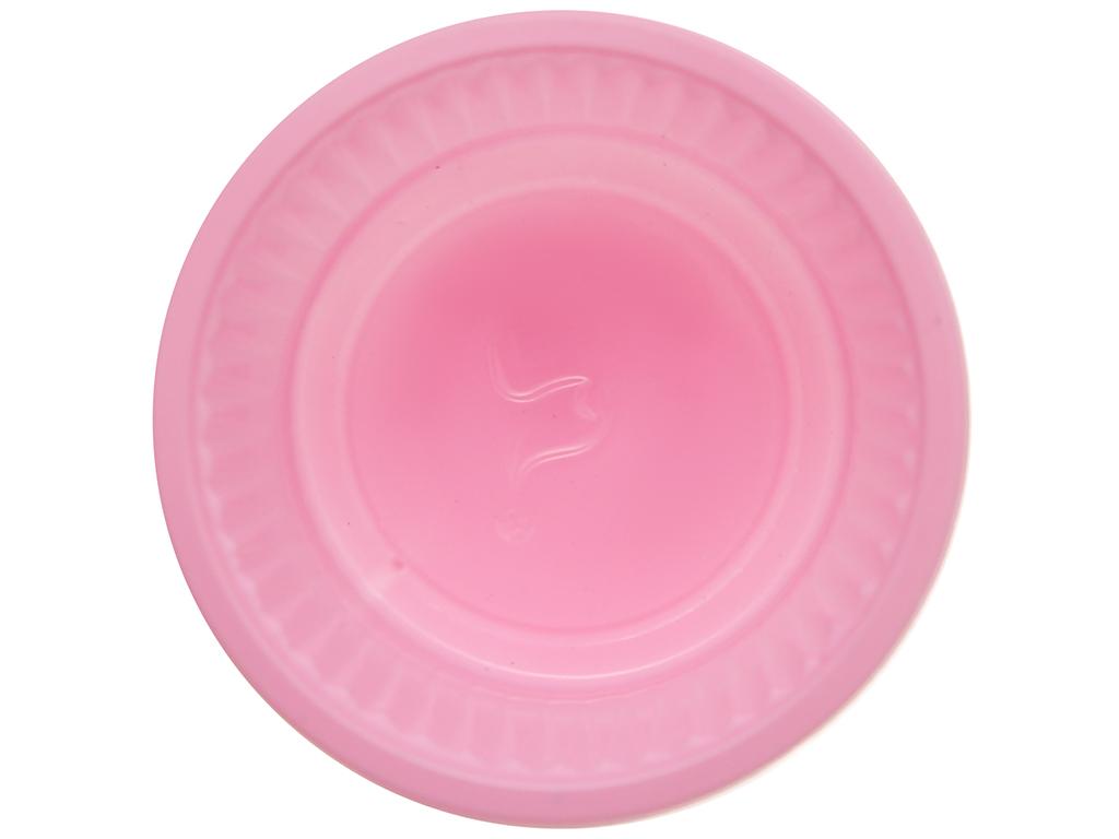 Chén đựng nước chấm nhựa PP màu hồng Hunufa 5cm (20 cái) 2