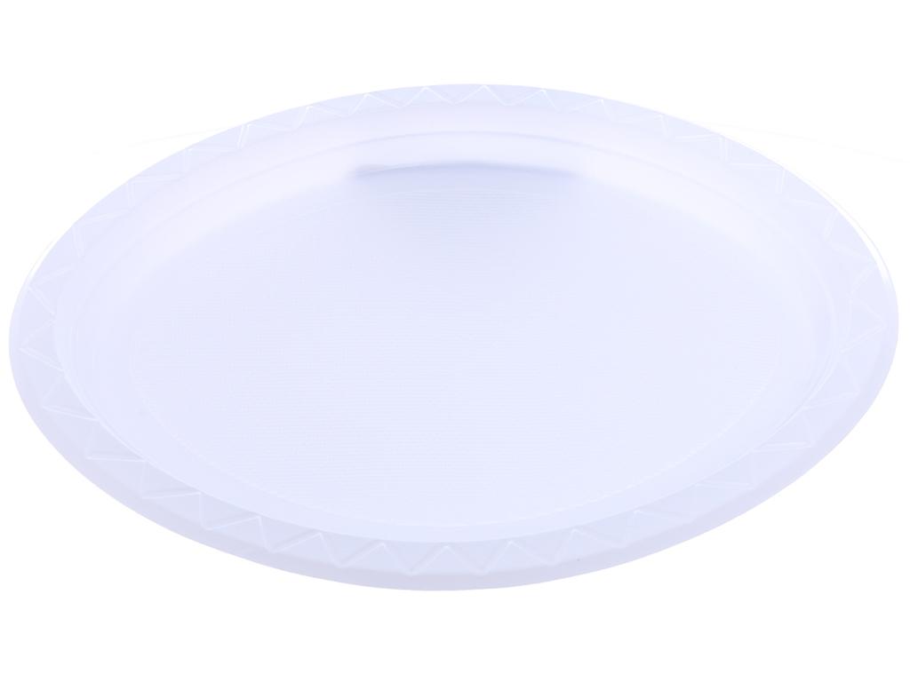 10 dĩa nhựa PS Oval Hunufa 31.5cm 3