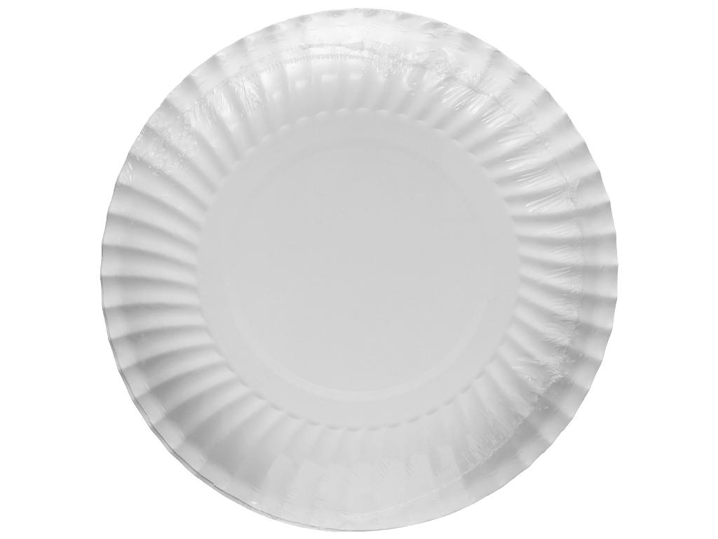 Dĩa giấy in hình Hunufa 16cm (10 cái) 2