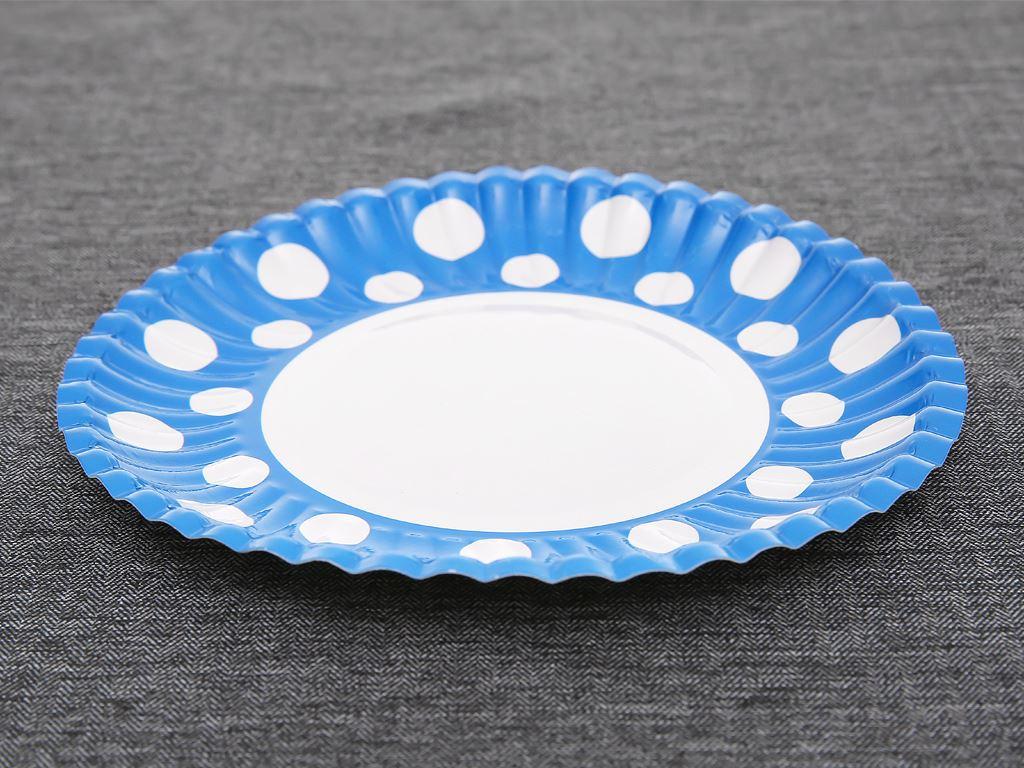 Dĩa giấy in hình Hunufa 16cm (10 cái) 3