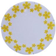 Đĩa giấy in hình hoa mai Hunufa 17 cm (10cái)