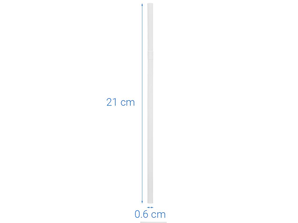 Ống hút nhựa cong Hunufa 20cm (80 cái) 6