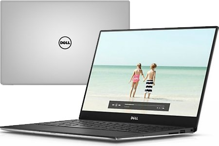 Laptop Dell XPS 9360 i7 7500U/16GB/512GB/Win10/Office365/(99H102)