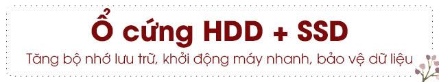 SSD kết hợp HDD