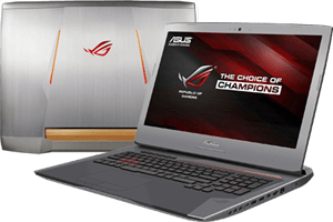 Laptop Asus G752VS i7 6820HK/32GB/1TB+512GB/8GB GTX1070/Win10/(GC175T)