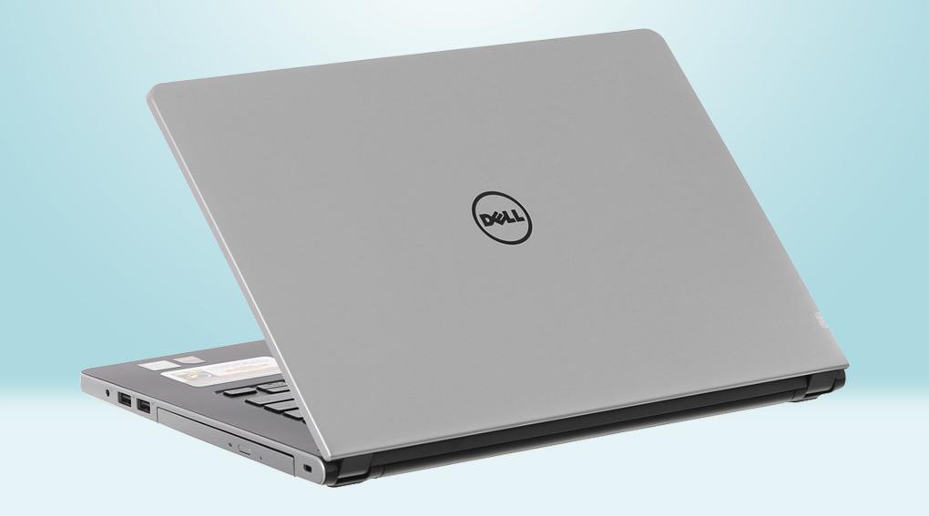 Dell Inspiron 5468 i5 7200U - Máy có màu sắc và thiết kế quen thuộc của hãng Dell