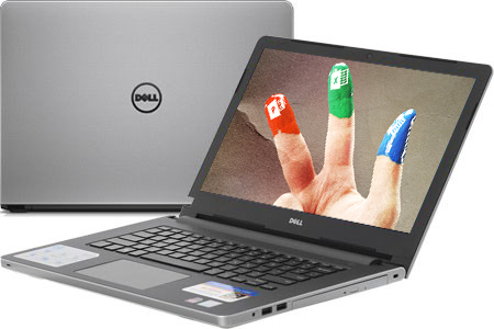 Laptop Dell Inspiron 5468 i5 7200U/4GB/500GB/2GB R7M440/Win10/Office365/(K5CDP11)