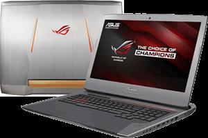 Laptop Asus G752VS i7 7700HQ/16GB/1TB+256GB/8GB GTX1070/DOS/(BA263)