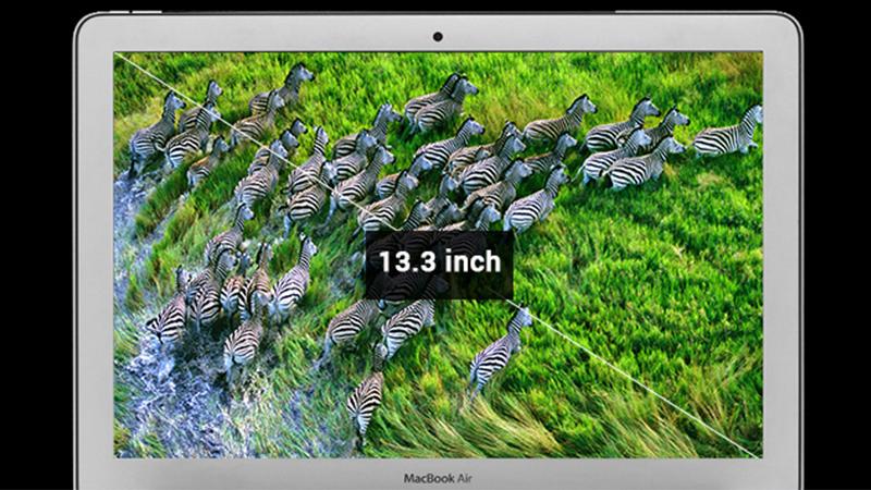 Màn hình của laptop Macbook Air MQD32SA/A i5 5350U