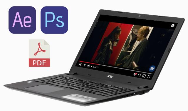 Cấu hình mạnh với chip i5 của Acer Aspire A315 51 52AB