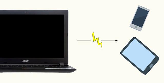 Acer Aspire A315 51 52AB - Tính năng USB Charge giúp bạn có thể sạc được điện thoại ngay cả khi laptop đã tắt