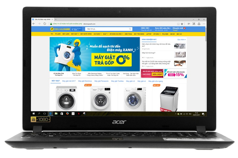 Acer Aspire A315 51 52AB i5 7200U/4GB/500GB/Win10/(NX.GNPSV.018