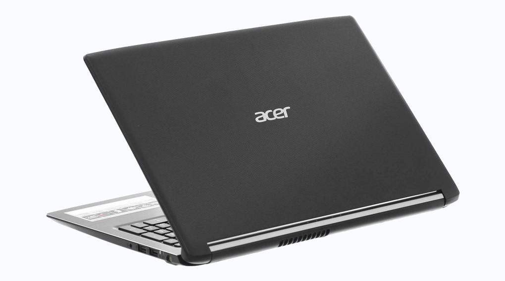 Thiết kế của máy Acer Aspire A515 51G 52ZS