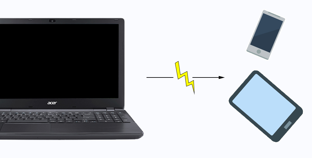 Acer Aspire A515 51G 52ZS - Tính năng USB Charge giúp bạn có thể sạc được điện thoại ngay cả khi laptop đã tắt