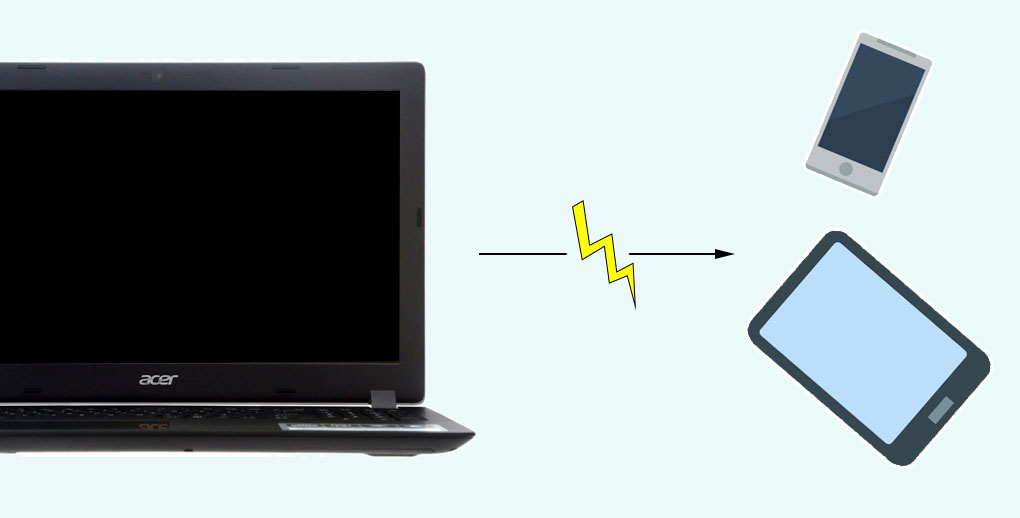 Acer Aspire A315 51 31X0 - Tính năng USB Charge giúp bạn có thể sạc được điện thoại ngay cả khi laptop đã tắt