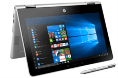 HP Pavilion X360 ad026TU i3 7100U/4GB/500GB/Win10/(2GV32PA)