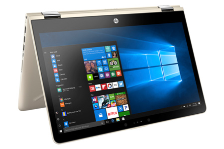 Laptop HP Pavilion x360 ba063TU i3 7100U/4GB/500GB/Win10/(2GV25PA)