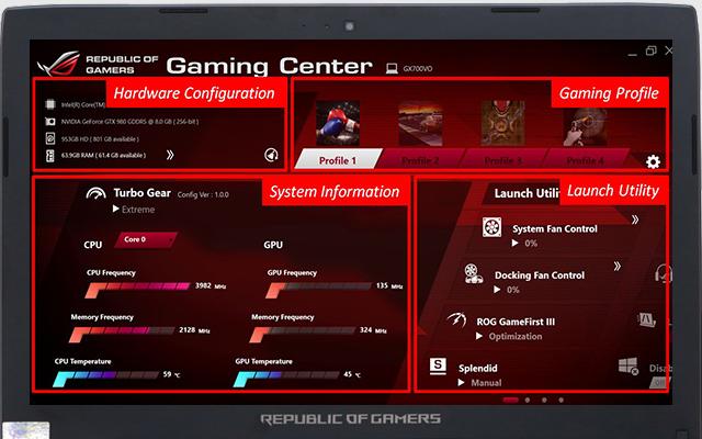 Trung tâm điều khiển Gaming Center thông minh