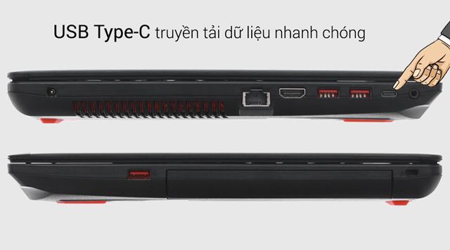 Cổng kết nối chuẩn USB Type C