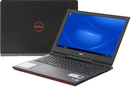 Laptop Dell Inspiron 7567B i7 7700HQ/8GB/1TB+128GB/4GB GTX1050Ti/Win10/(P65F001)