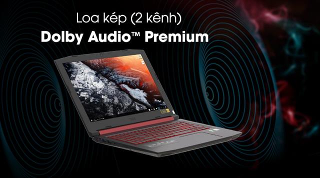 Acer Nitro 5 AN515 51 739L i7 7700HQ- Âm thanh