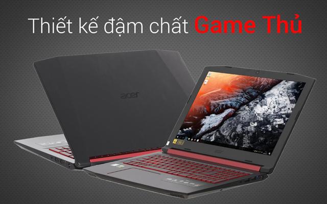 Acer Nitro 5 AN515 51 739L i7 7700HQ- Thiết kế
