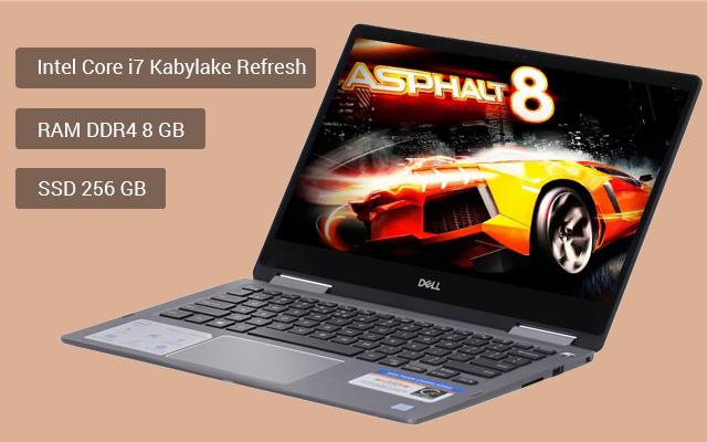 Cấu hình mới, hiện đại trên laptop doanh nhân Dell Inspiron 7373 i7 8550U