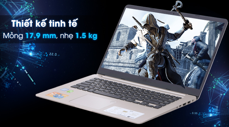 ASUS S510UQ: Core i7 7500u/8G/1T/15in FullHD/VGA 2G 940M, còn BH 5th ! - 1