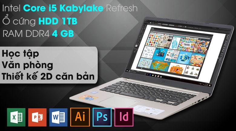 Laptop Asus VivoBook S15 S510UA i5 8250U (BQ414T)