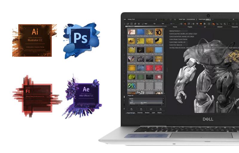 Cấu hình mạnh mẽ trên Laptop doanh nhân Dell Inspiron 7570