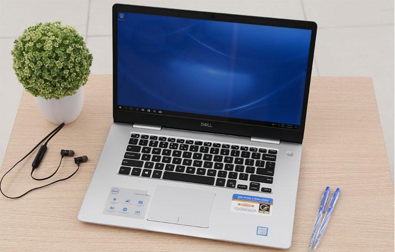 Thiết kết trang nhã, hiện đại trên Laptop doanh nhân Dell Inspiron 7570