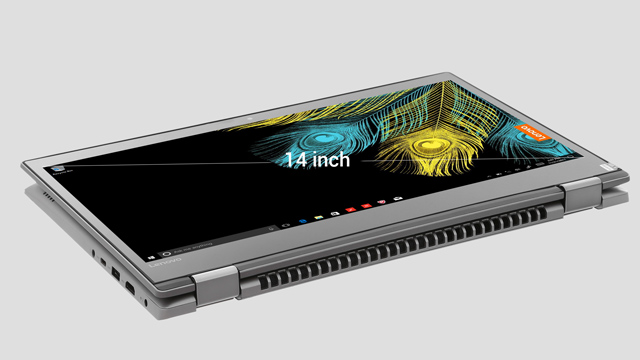 Màn hình chuẩn HD của laptop 2 trong 1 Lenovo Yoga 520