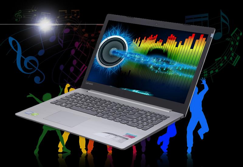 Giải trí, thư giãn cùng Laptop đồ hoạ, kĩ thuật Lenovo IdeaPad 320 15IKBN (81BG00E1VN)