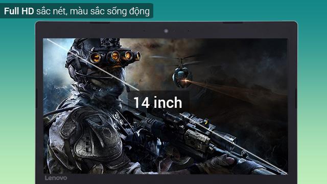 Màn hình Full HD sắc nét