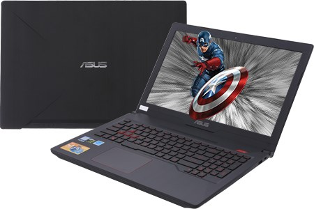 Laptop Asus FX503VD i7 7700HQ/8G/1TB+128GB/GTX1050 4GB/Win10/(E4119T)