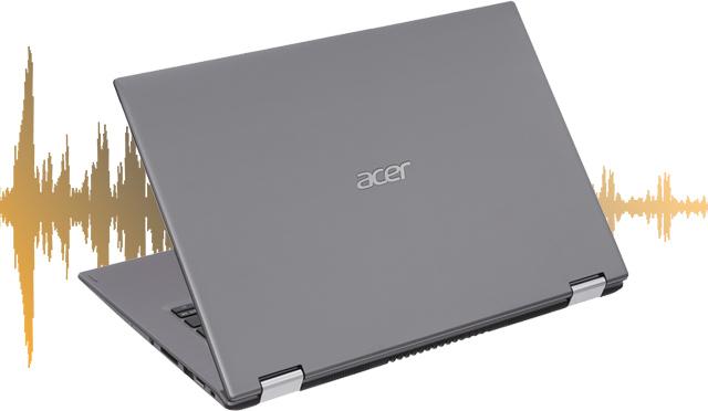 Âm thanh độc quyền trên laptop 2 trong 1 Acer Spin 3 SP314 51 39WK