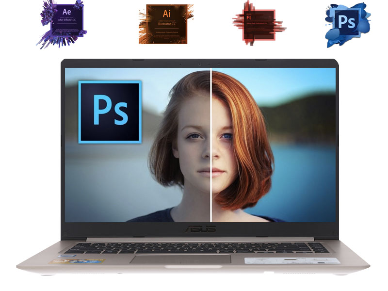 Cấu hình xử lý tốt đồ hoạ cơ bản trên Laptop Asus VivoBook X510UA
