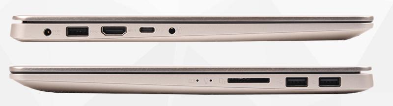 Laptop Asus S410UA - Đa dạng các cổng kết nối | Thegioididong