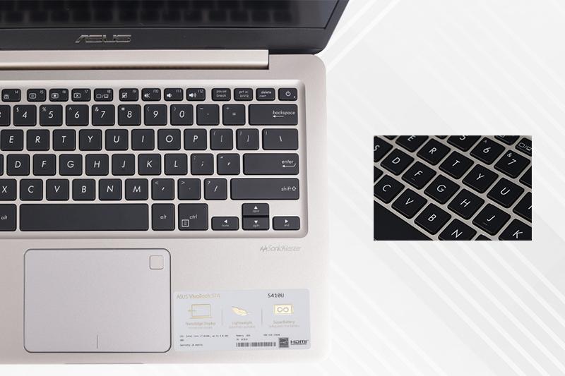 Máy tính xách tay Asus S410UA - Bàn phím nhạy, thiết kế khoa học   DienmayXANH