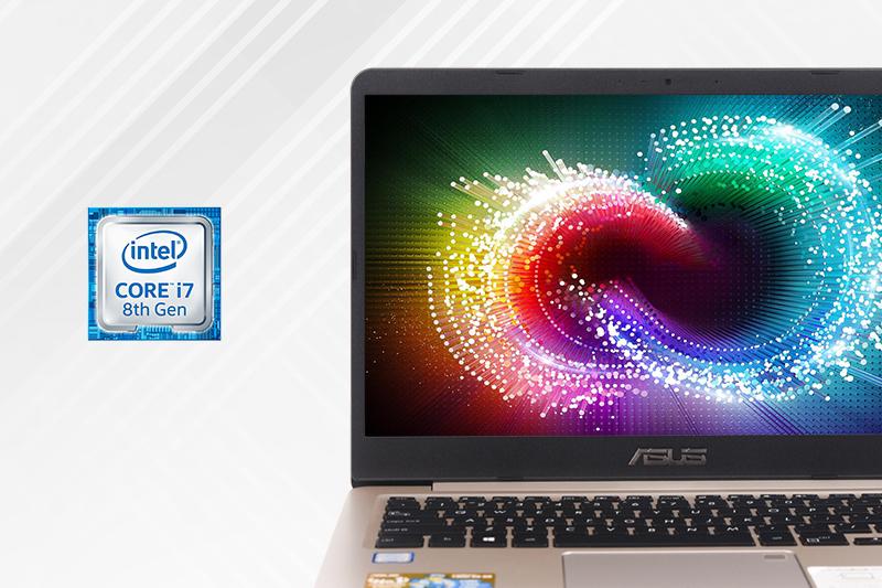 Máy tính xách tay Asus S410UA - Cấu hình thế hệ thứ 8 mạnh mẽ   DienmayXANH
