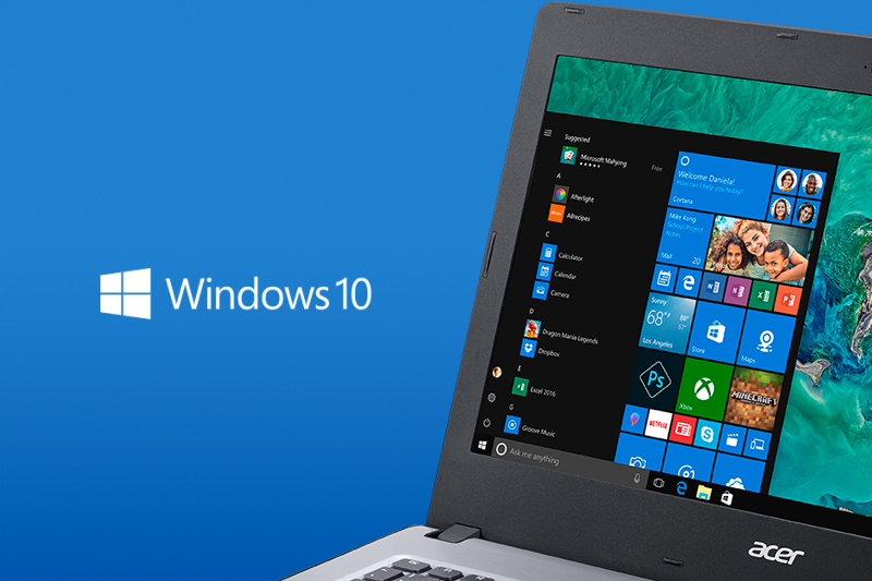 Hệ điều hành trên laptop giá rẻ Acer Aspire E5 476 i3 8130U