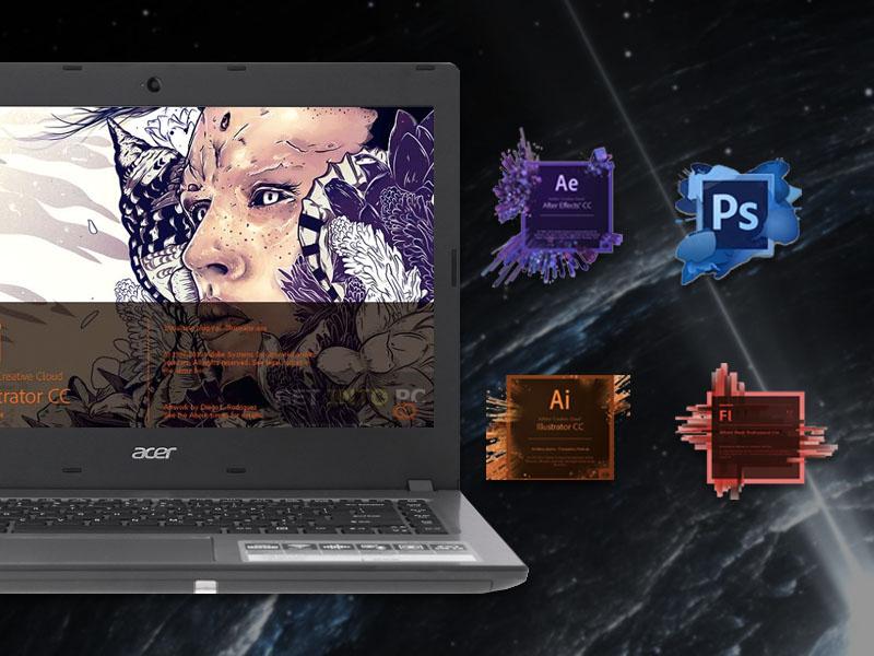Cấu hình ổn định trên máy tính văn phòng Acer Aspire E5 476 i3 8130U