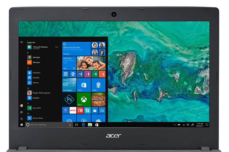 Màn hình sắc nét trên laptop giá rẻ Acer Aspire E5 476 i3 8130U